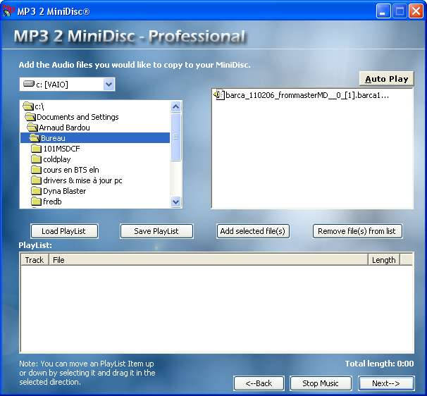 MP3 2 MD